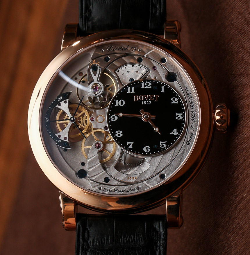 Bovet Recital 12 Watch Hands-On: The Thinnest One Yet Hands-On