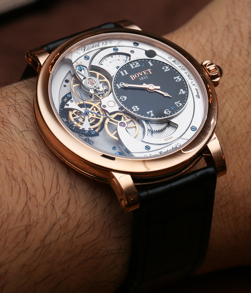 Swiss Grade Bovet Recital 12 Watch Hands-On: The Thinnest One Yet Replica Watches Buy Online
