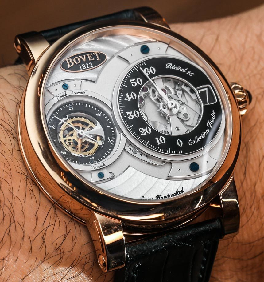 Discount Bovet Recital 15 Watch Hands-On Replica Clearance