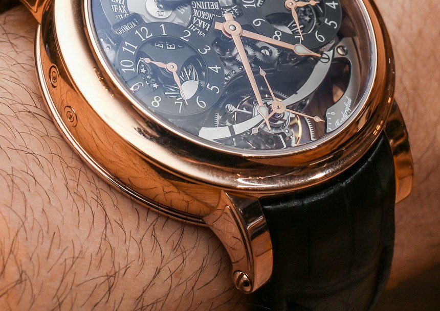 Bovet Recital 16 Triple Time Zone Tourbillon Watch Hands-On Hands-On