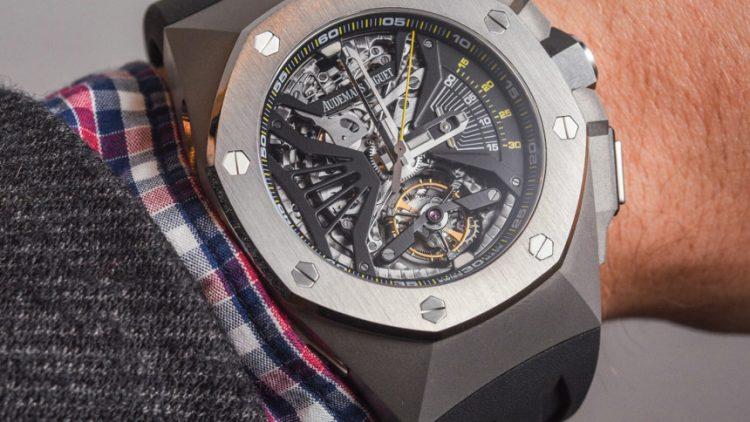 Wholesale Famous Audemars Piguet Royal Oak Concept Supersonnerie Tourbillon Chronograph Watch Hands-On Replica Suppliers
