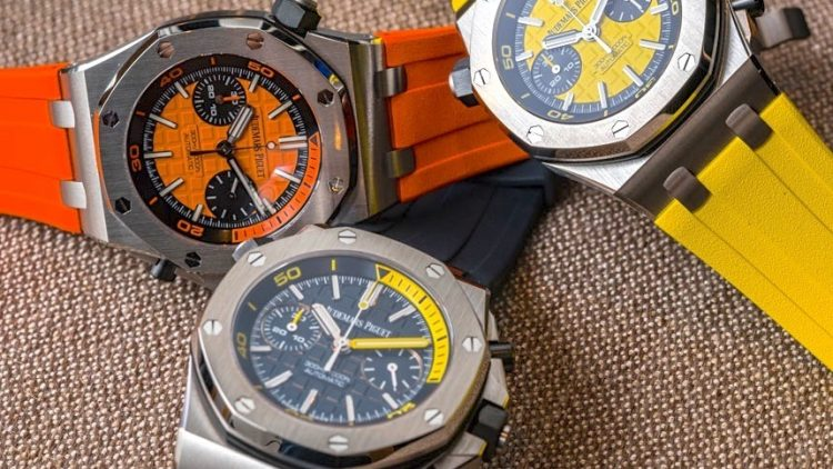 High End Audemars Piguet Royal Oak Offshore Diver Chronograph Watches Hands-On Replica Trusted Dealers