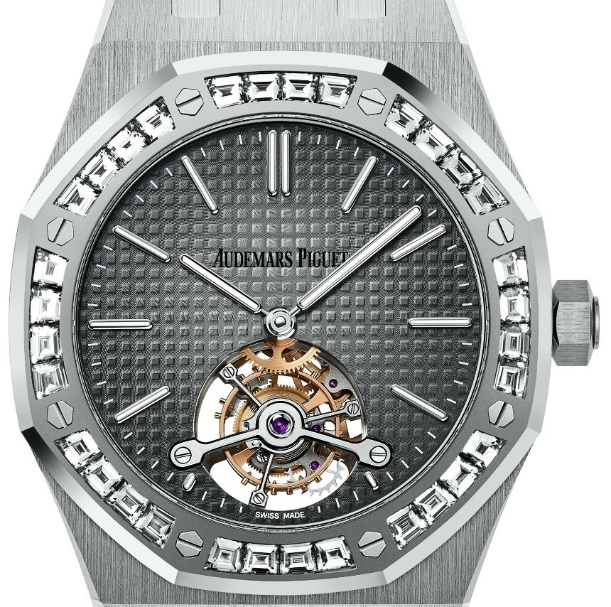 Top Quality Audemars Piguet Royal Oak Tourbillon Extra-Thin Platinum Watches For SIHH 2016 Replica Watches Buy Online