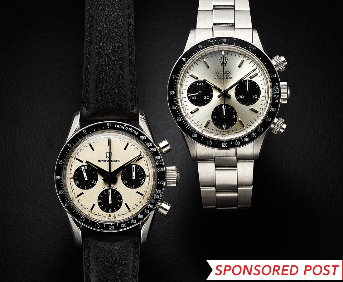 Swiss 7750 Valjoux Heritage Auctions October 2017 Event Grade 1 Replica Watches