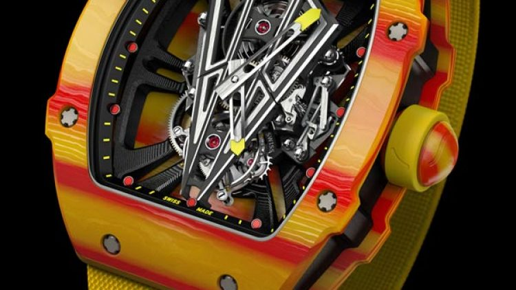High End Richard Mille – Tourbillon RM 27-03 Rafael Nadal Japanese Movement Replica