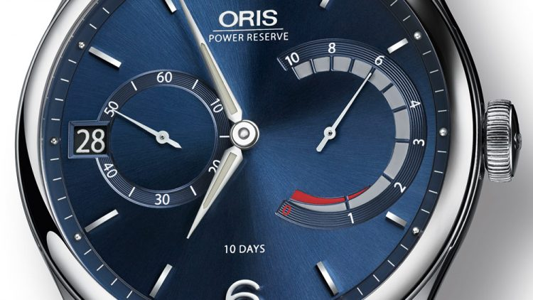 Oris Artelier Calibre 111 Blue Watch Swiss Movement Replica Watches