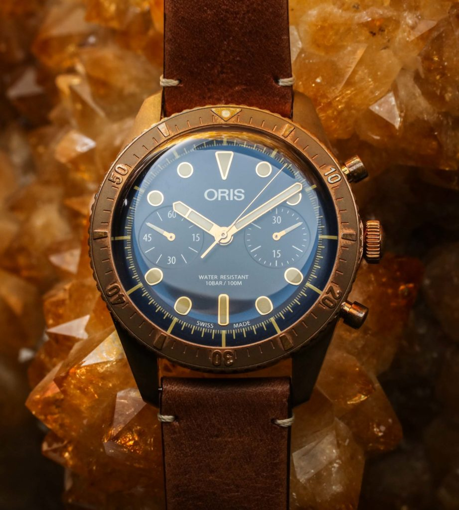 Oris Carl Brashear Chronograph Limited Edition Bronze Watch Hands-On Hands-On