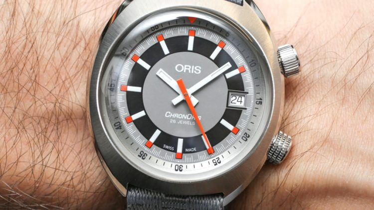 Oris Chronoris Date Watch Hands-On Replica Watches Essentials