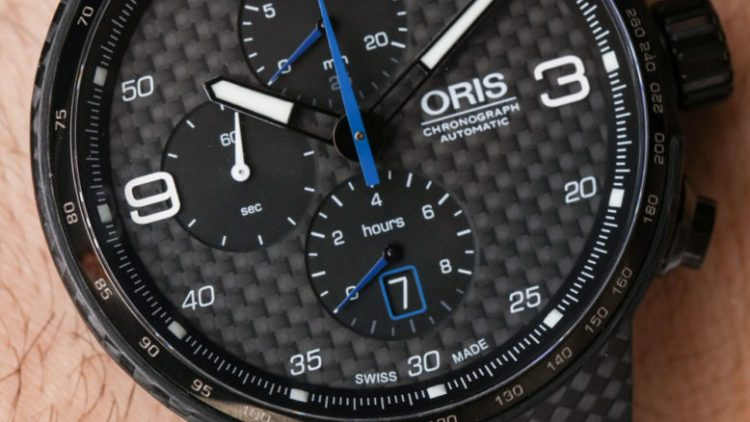 Oris Williams Chronograph Carbon Valtteri Bottas Limited Edition Watch Hands-On Low Price Replica