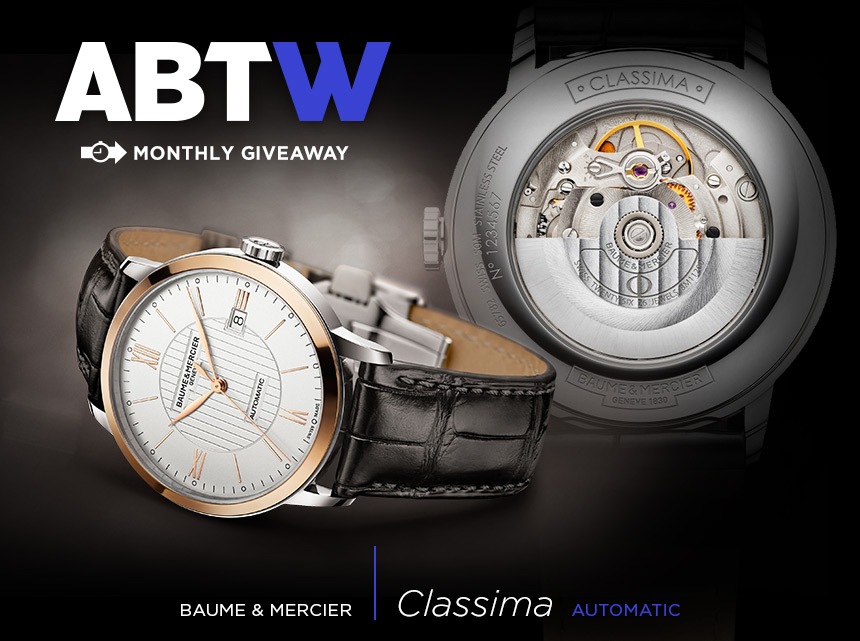 Winner Announced: Baume & Mercier Classima Automatic Watch Giveaway Giveaways