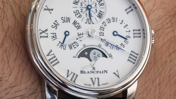 Low Price Replica Blancpain Villeret Quantieme Perpetuel 8 Jours Watch Hands-On