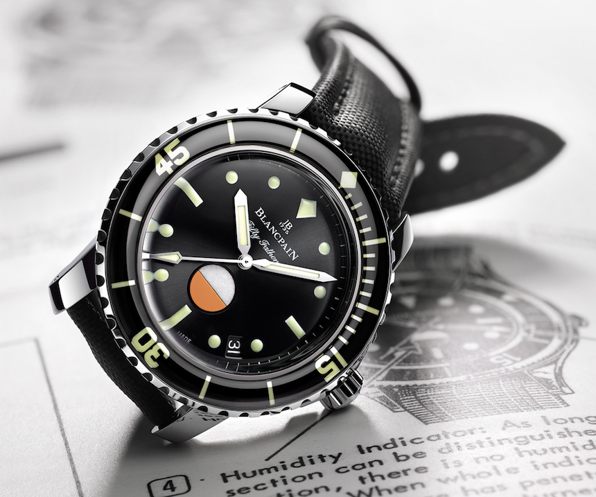 Replica Wholesale Blancpain Tribute To Fifty Fathoms Mil-Spec Watch