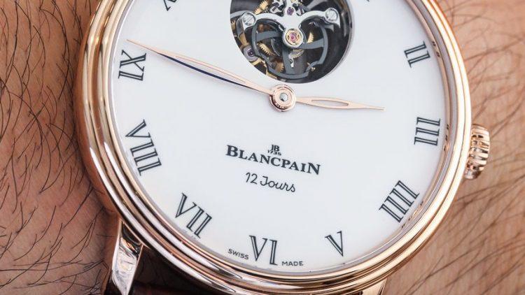 Replica Suppliers Blancpain Villeret Tourbillon Volant Une Minute 12 Jours Watch Hands-On