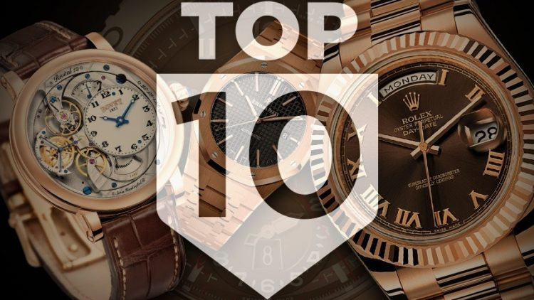 Replica Buyers Guide Top 10 Gold Watches