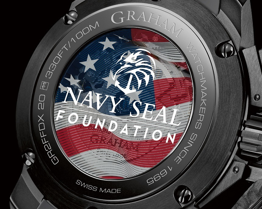 Perfect Clone Online Shopping Graham Chronofighter Oversize Navy SEAL Foundation Limited Edition Watch