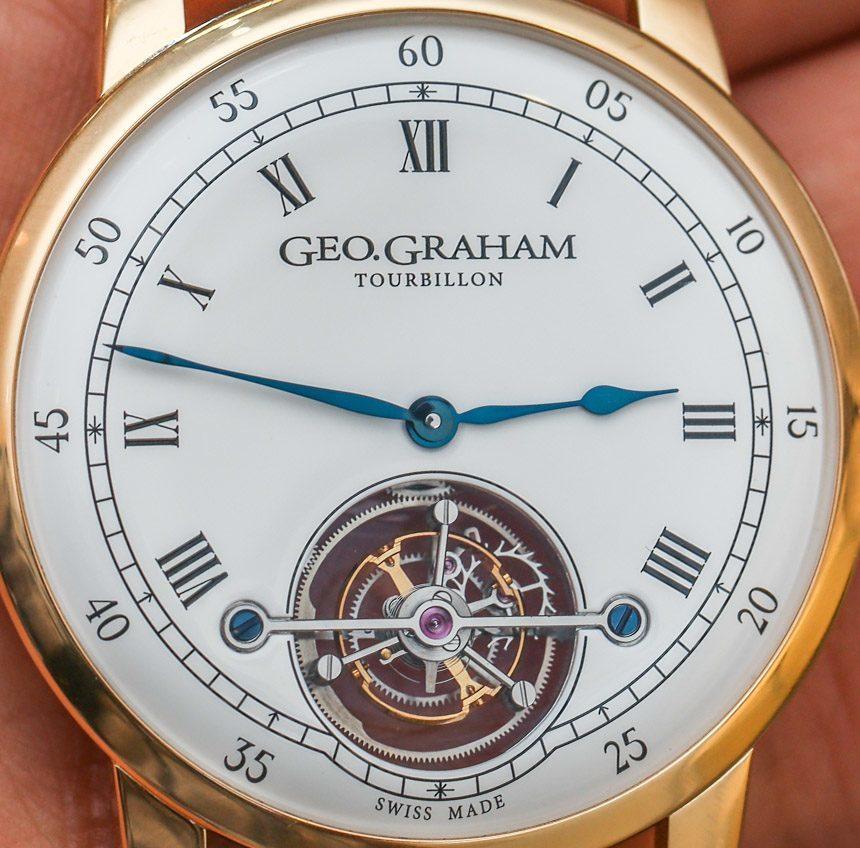 Geo.Graham Tourbillon Watch Hands-On Hands-On