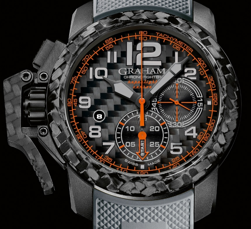 Graham Chronofighter Superlight Carbon Watch Watch Releases