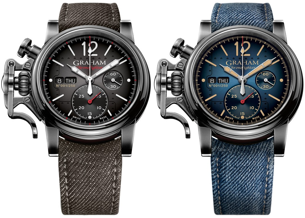 Replica Expensive Graham Chronofighter Vintage Aircraft Ltd.. Watch