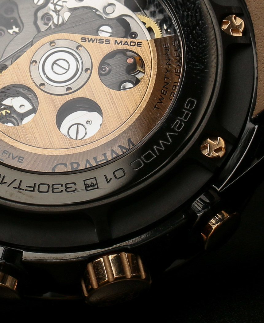 Graham Silverstone RS Skeleton Black & Gold Watch Hands-On Hands-On