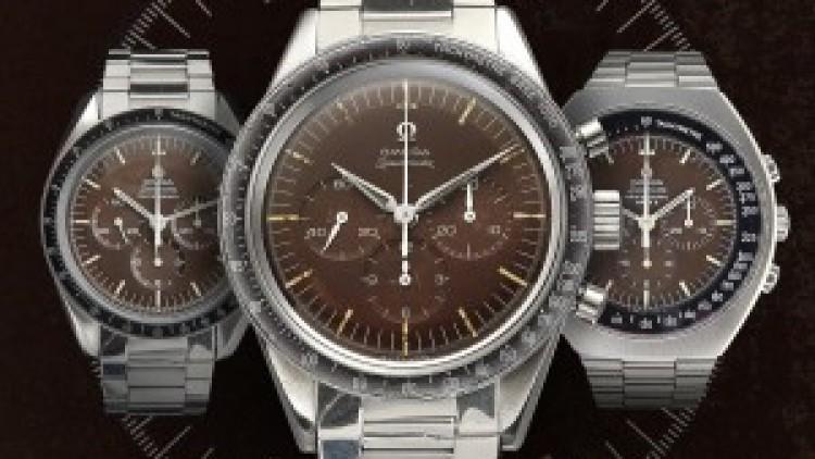 Best Replica Omega Speedmaster 'Tropical' Brown Dial Vintage Watch