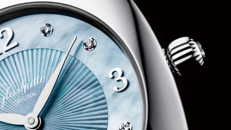 Replica Watches Store – Glashütte Original Pavonina Steel MOP Dial Watch