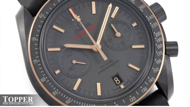 A look at the 2015 Replica Omega Dark Side of the Moon Watch