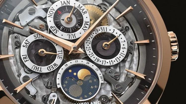 Montblanc Replica Heritage Spirit Perpetual Calendar Sapphire Watches