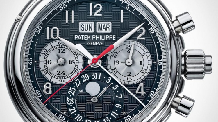 Patek Philippe Replica Split-Seconds Perpetual Calendar In Titanium For Only Watch 2015