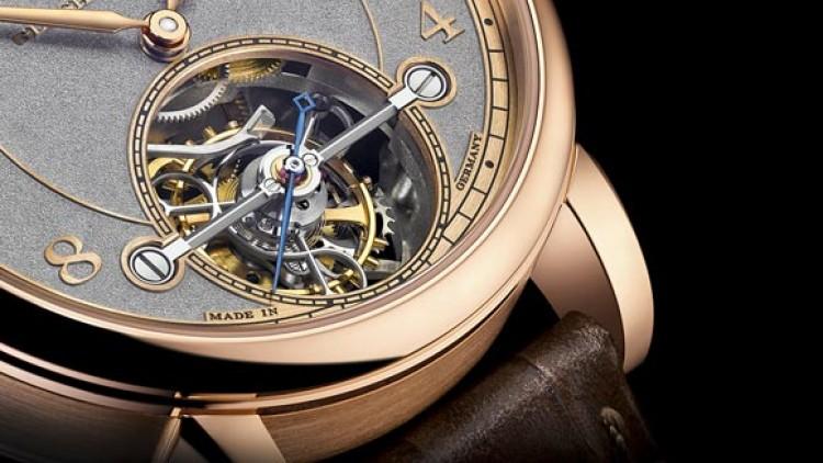 Cheap Replica A. Lange  Söhne 1815 Tourbillon Handwerkskunst Rose Gold Watch