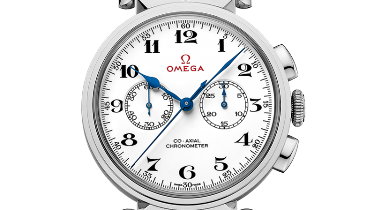 Replica Omega Olympic Official Timekeeper White Gold Watches