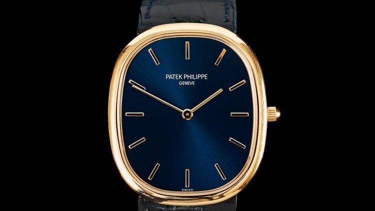 Beautiful Patek Philippe Golden Ellipse Mechanical Watches