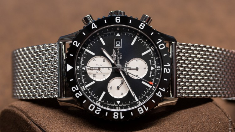 Authentic Flight Captain's Watch:  best breitling chrono liner flight captain chronograph replica watch