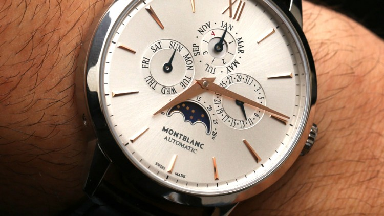 "Best Montblanc Heritage Spirit Perpetual Calendar Replica Watch ""Spirit of Meisterstück"""