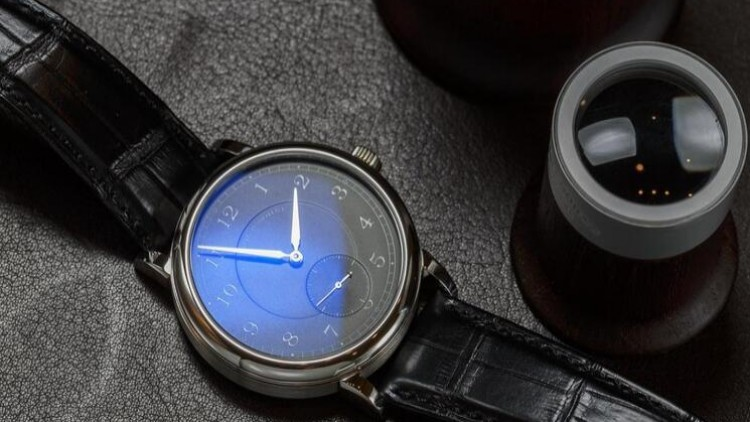 Replica A. Lange and Sohne 1815 for the 200th anniversary of the black-faced platinum F. A. Lange  limited edition watch