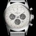 Ocean Classic Steel Bracelet White Dial Breitling Transocean Chronograph Replica Watch