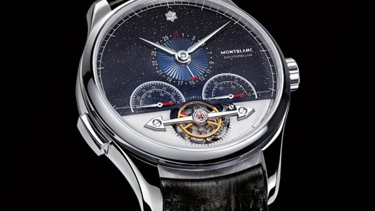 New montblanc heritage chronométrie exotourbillon minute chronograph vasco da gama limited edition replica watch