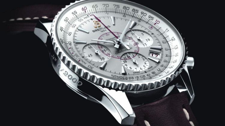 White Dial Steel Breitling Watch Replica Online