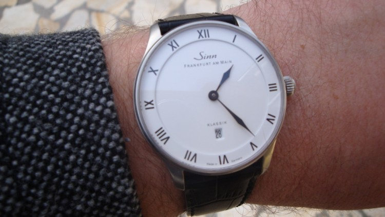 White Dial Sinn 1746 Klassik Replica Watch