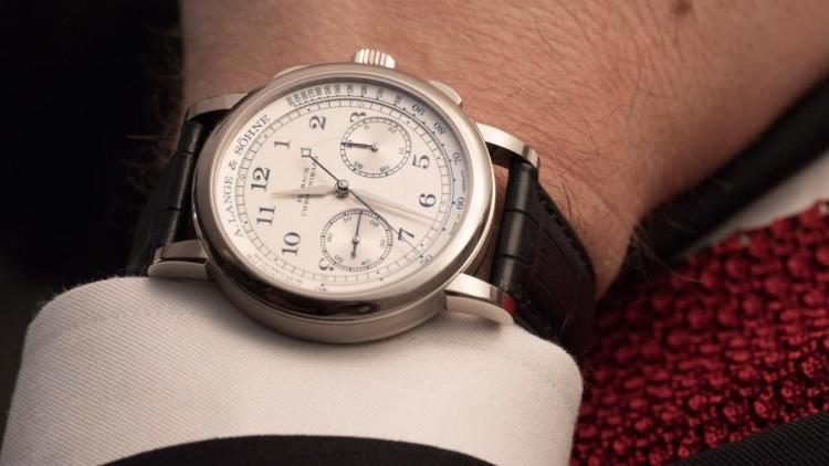Steel Case A. Lange & Söhne 1815 Chronograph Replica Watch