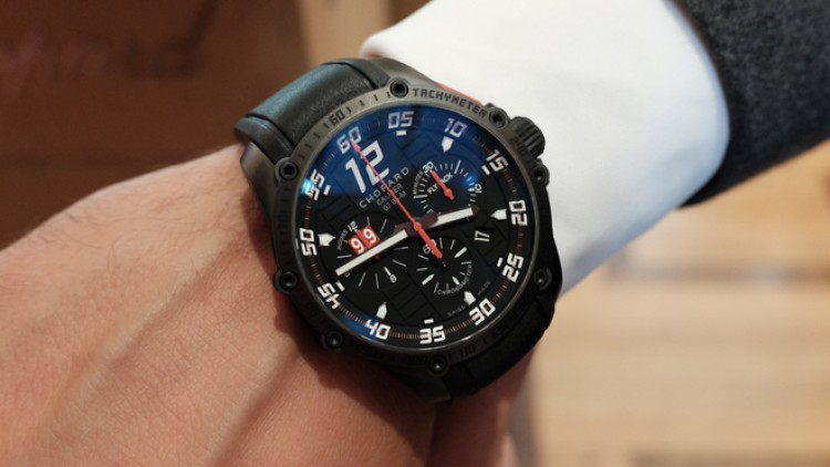 45mm Chopard Superfast Chrono Porsche 919 Black Edition Replica Watch