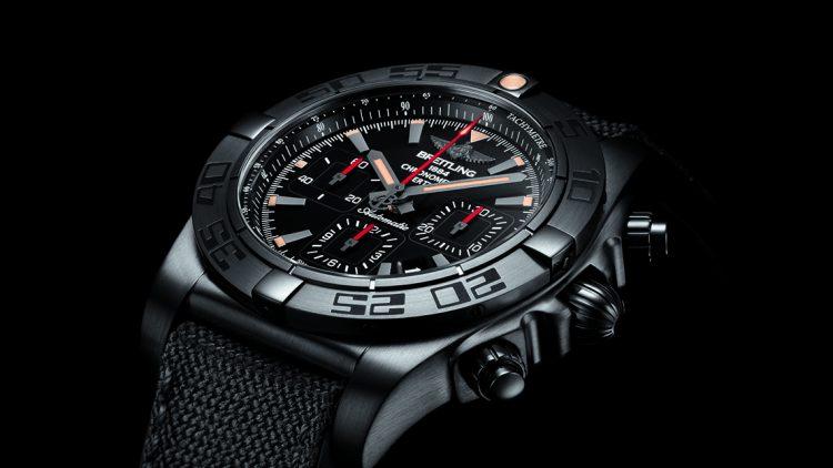 Best Quality Breitling Chronomat 44 Blacksteel Replica Watches