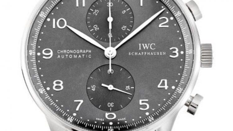 White Dial IWC Portuguese Chronograph Replica Watch Ref.IW371431