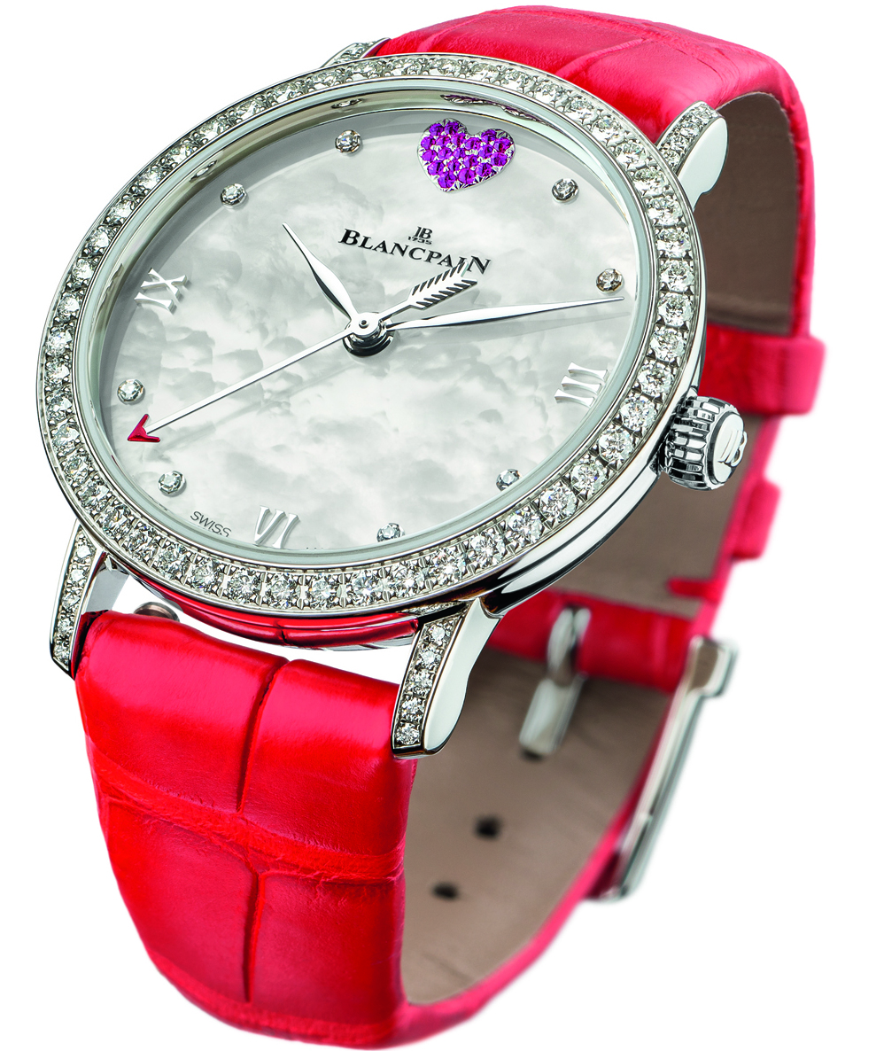 Japanese Movement Replica Blancpain St. Valentine's Day Special Edition Watch For The Ladies In Your Life
