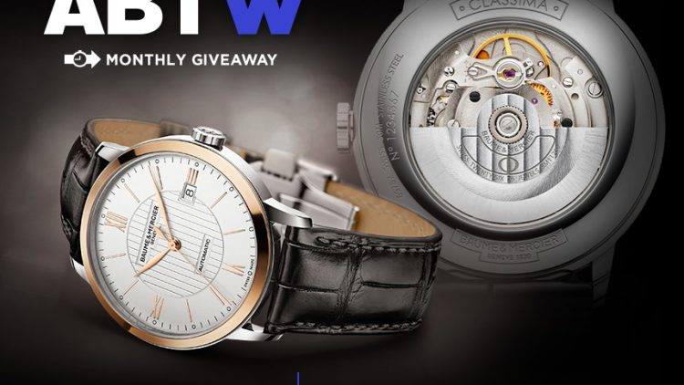 Replica Buyers Guide Swiss 7750 Valjoux WATCH GIVEAWAY: Baume & Mercier Classima Automatic