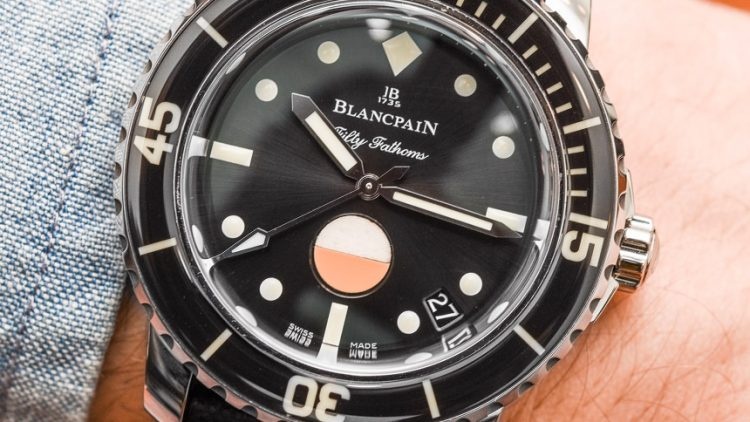 Replica Guide Trusted Dealers Blancpain Tribute To Fifty Fathoms Mil-Spec Watch Hands-On