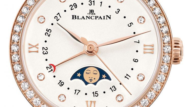 Replica Watches Buy Online Blancpain Villeret Date Moonphase Ladies' Watch