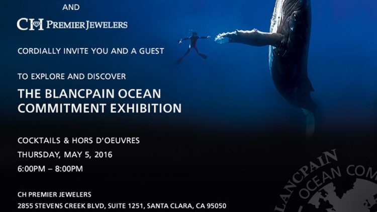 Replica Trusted Dealers Blancpain Ocean Commitment Event At CH Premier In Santa Clara May 5, 2016
