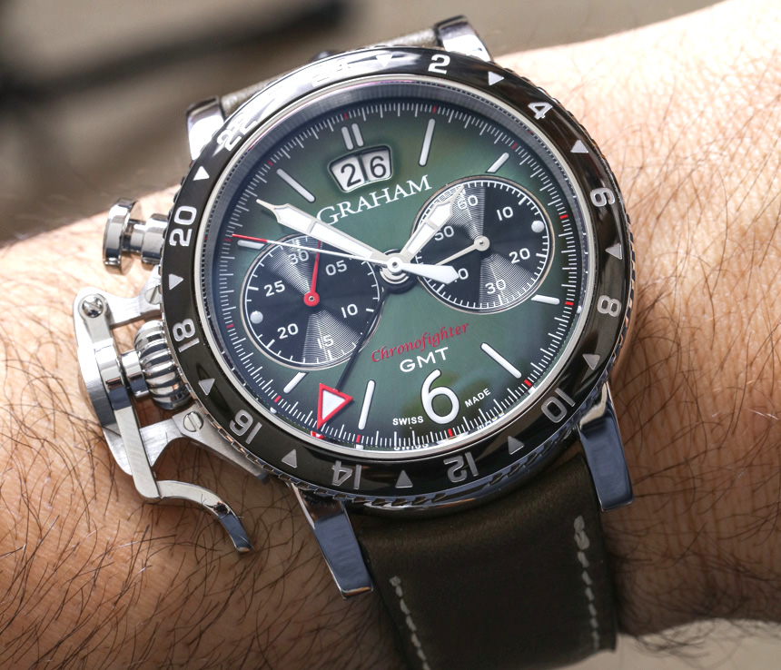 Replica Trusted Dealers Graham Chronofighter Vintage GMT Watch Review