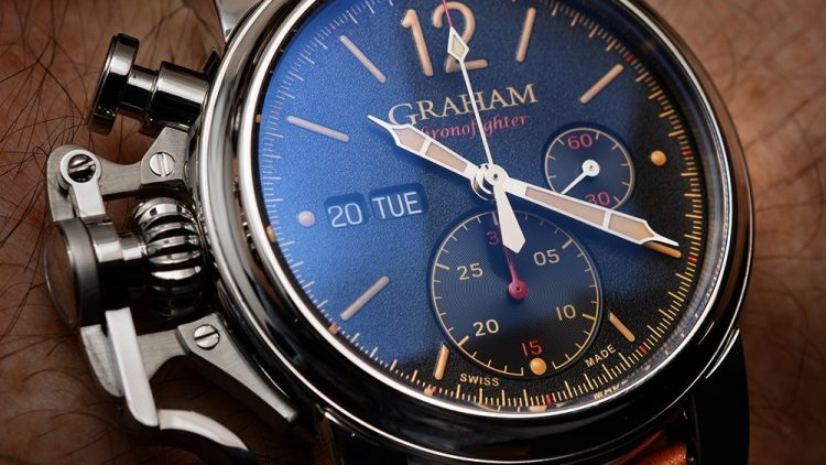 Replica Watches Free Shipping Graham Chronofighter Vintage Watch Hands-On